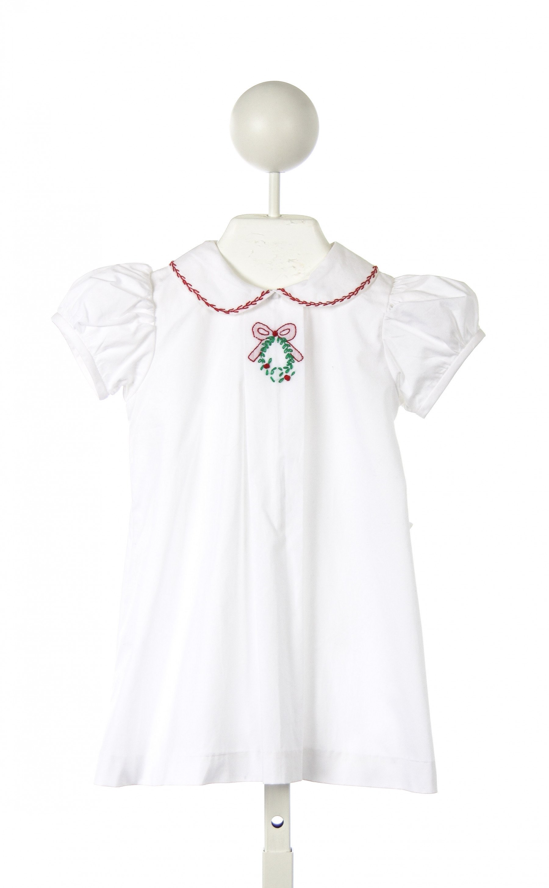 White apron dress