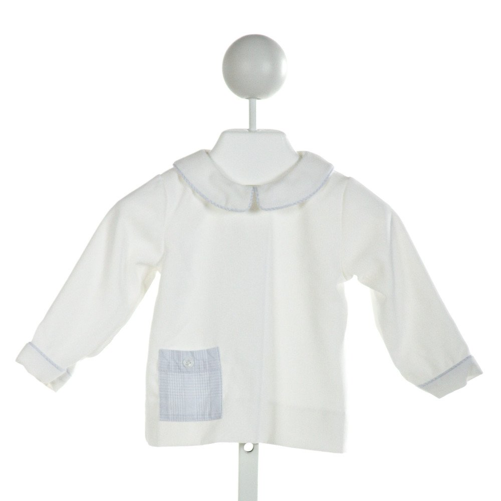 ALICE KATHLEEN  IVORY CORDUROY   CLOTH LS SHIRT