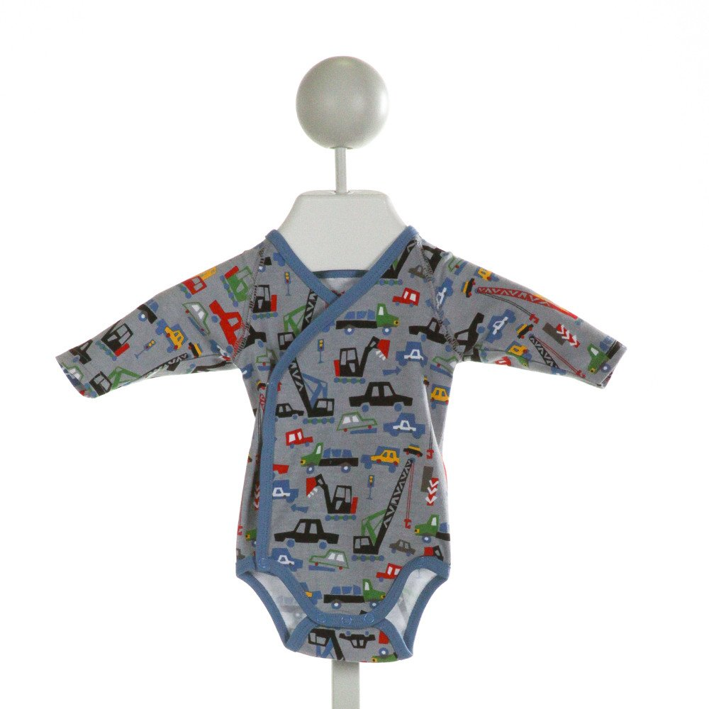 ZUTANO  GRAY   PRINTED DESIGN LAYETTE