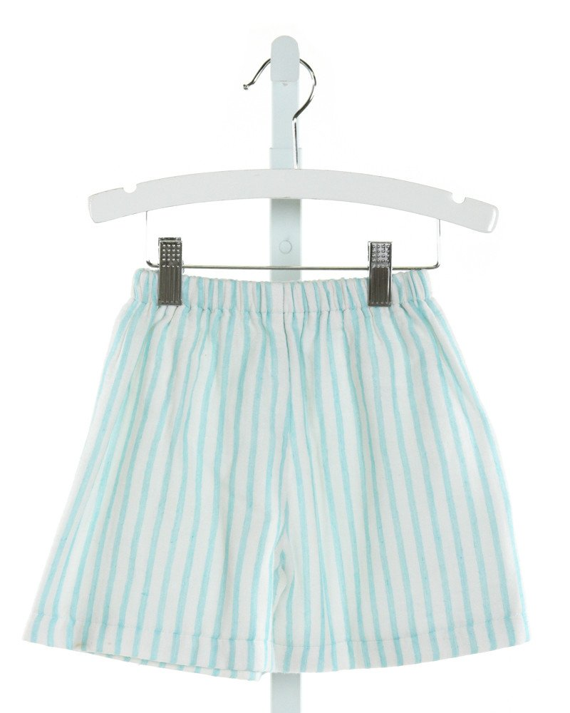 ALICE KATHLEEN  IVORY  STRIPED  SHORTS