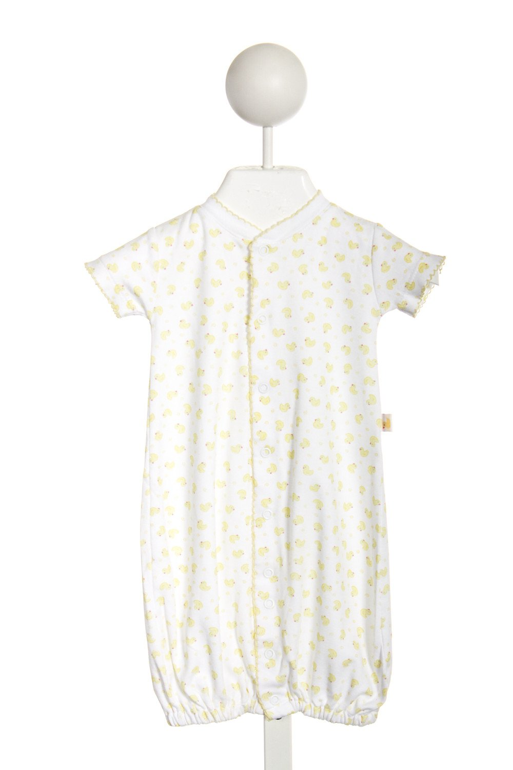 KISSY KISSY YELLOW BABY DUCKS CONVERTIBLE GOWN