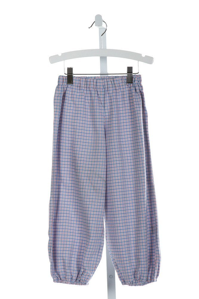 ALICE KATHLEEN  BLUE  PLAID  PANTS