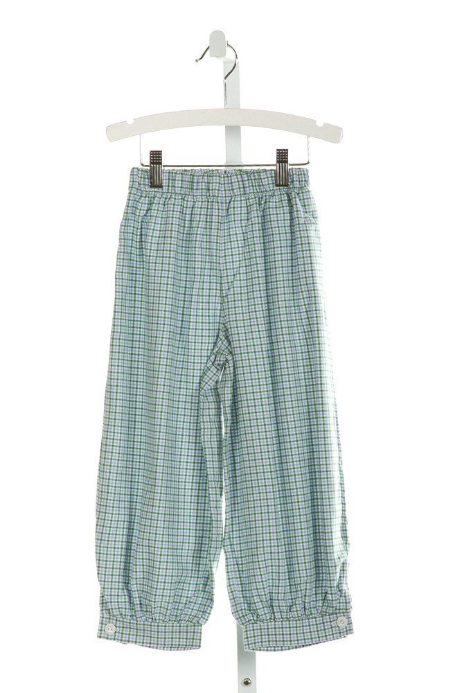 ALICE KATHLEEN  LT BLUE  PLAID  PANTS