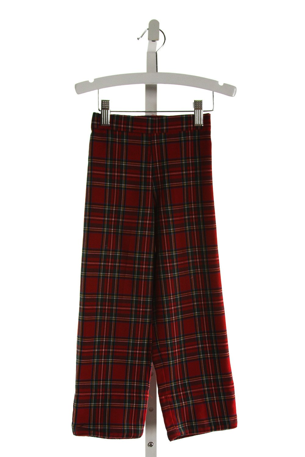 ALICE KATHLEEN  RED  PLAID  PANTS