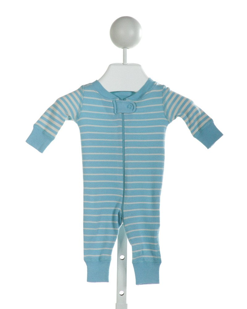 HANNA ANDERSSON  LT BLUE  STRIPED  LAYETTE