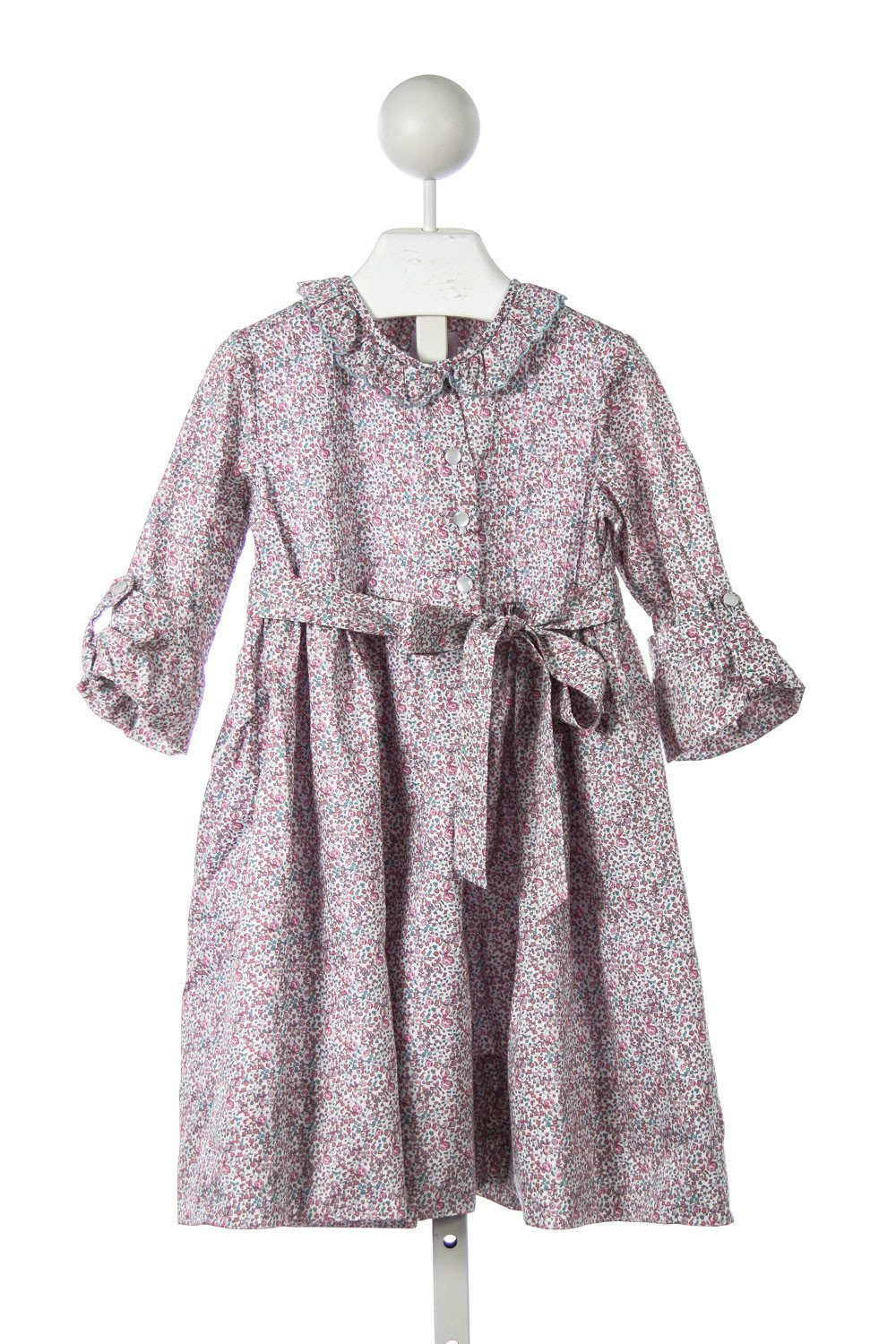 ALICE KATHLEEN SHIRTDRESS IN PINK AND SAGE LIBERTY