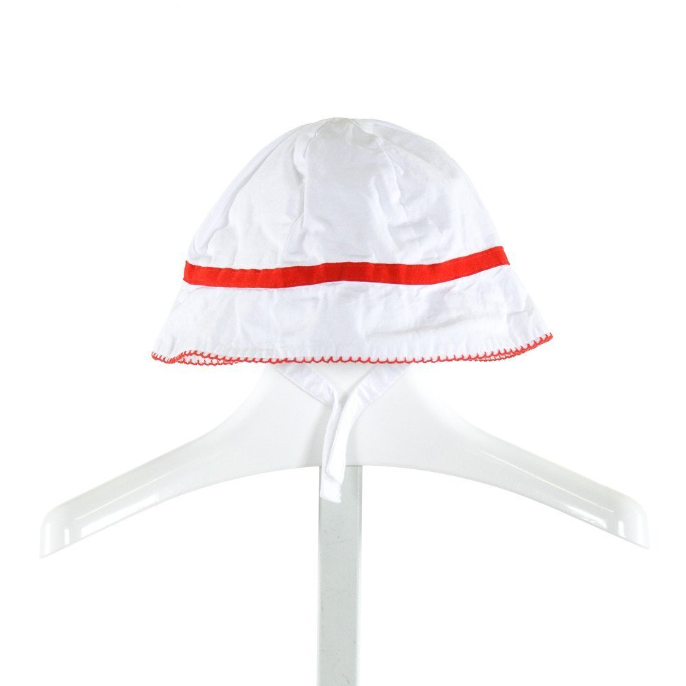 JANIE AND JACK  WHITE    ACCESSORIES - HEADWEAR WITH PICOT STITCHING