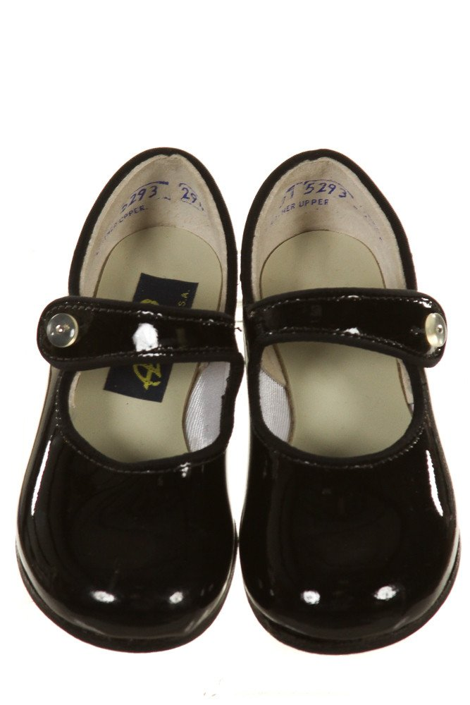 AMILIO BLACK MARY JANES *SIZE TODDLER 4.5, NWT