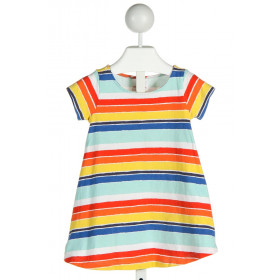 HANNA ANDERSSON  MULTI-COLOR  STRIPED  KNIT DRESS