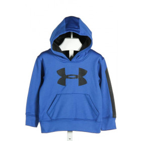 UNDER ARMOUR  BLUE    KNIT LS SHIRT