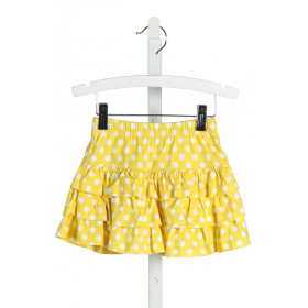 HANNA ANDERSSON  YELLOW KNIT POLKA DOT  SKORT