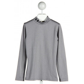 UNDER ARMOUR  GRAY    CLOTH LS SHIRT