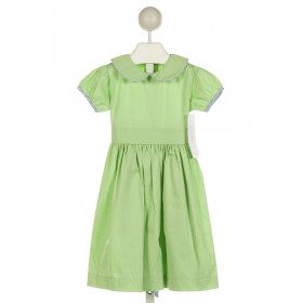 RED BEANS  LT GREEN    DRESS