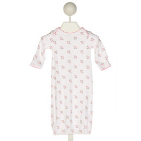 JANIE AND JACK  WHITE  PRINT  LAYETTE