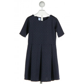 BELLA BLISS  NAVY  POLKA DOT  DRESS