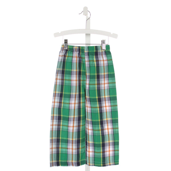 SMOCKINGBIRD  KELLY GREEN  PLAID  PANTS