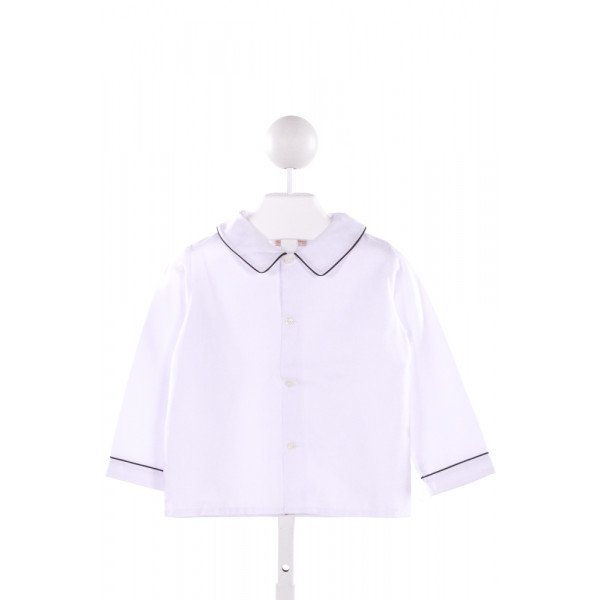 ANAVINI  WHITE    CLOTH LS SHIRT