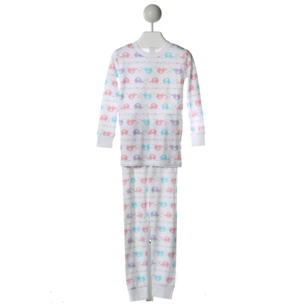 KISSY KISSY  WHITE   PRINTED DESIGN LOUNGEWEAR