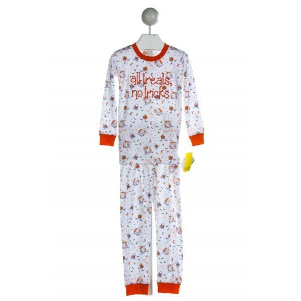 KISSY KISSY  WHITE  PRINT EMBROIDERED LOUNGEWEAR