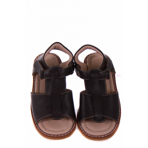 ELEPHANTITO BROWN LEATHER SANDALS *SIZE 10 *NWOT
