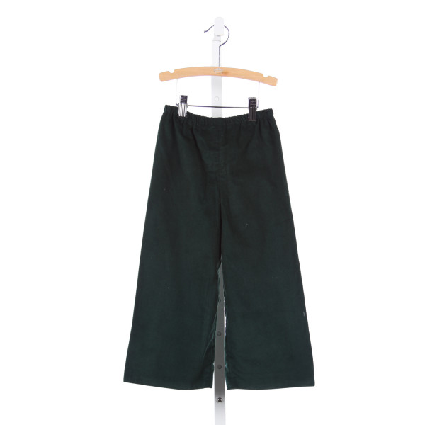 TIMELESS TOTS HUNTER GREEN CORD PANTS