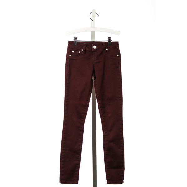 TRACTR BURGANDY JEANS
