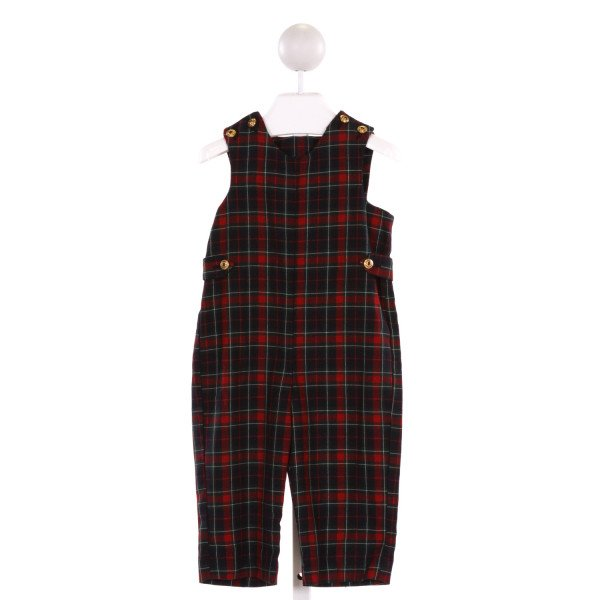 IMP  MULTI-COLOR  PLAID  LONGALL/ROMPER