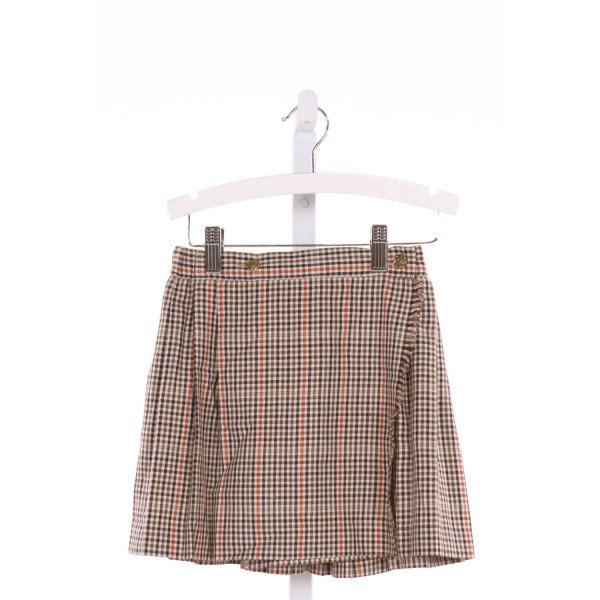 IMP  MULTI-COLOR  GINGHAM  SKIRT