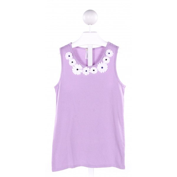 CREWCUTS  PURPLE   APPLIQUED KNIT TOP