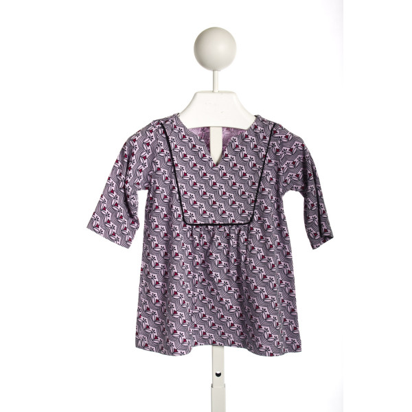 TEA PURPLE KNIT TUNIC