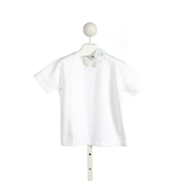 EYELET & IVY WHITE TERRY CLOTH SHIRT