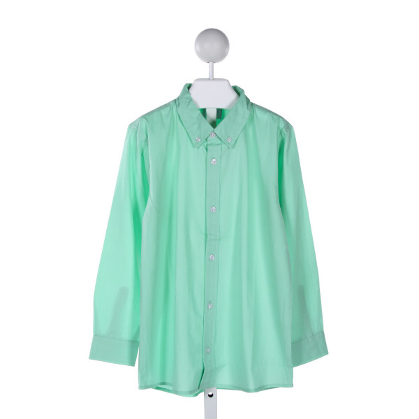 EYELET & IVY  GREEN    CLOTH LS SHIRT