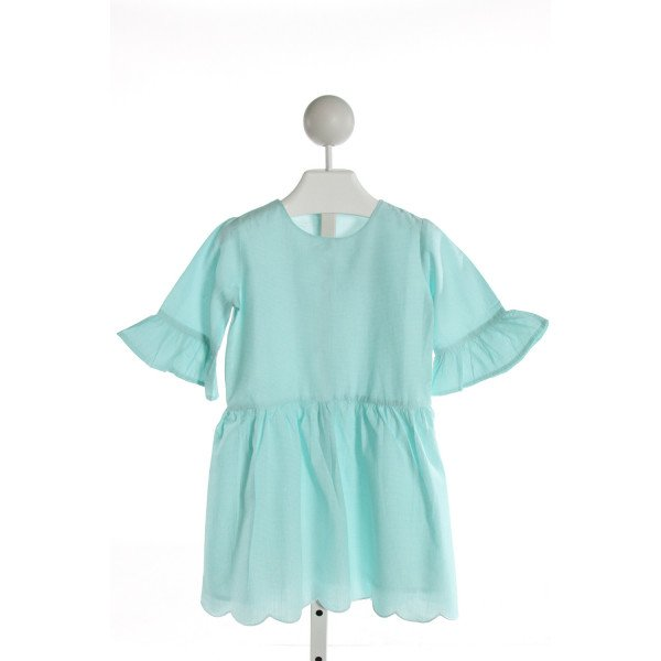 EYELET & IVY  MINT  MICROCHECK  DRESS