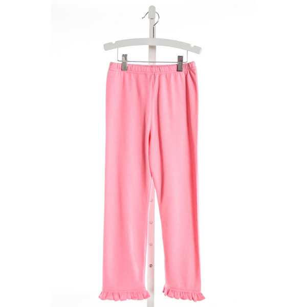 EYELET & IVY  HOT PINK    PANTS WITH RUFFLE