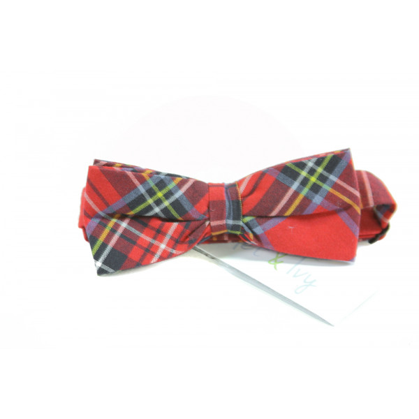 EYELET & IVY  RED  PLAID  ACCESSORIES - BELT/TIES