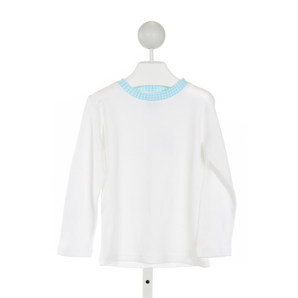 EYELET & IVY  OFF-WHITE    KNIT LS SHIRT