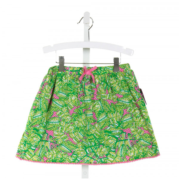 J. KHAKI  GREEN  POLKA DOT PRINTED DESIGN SKORT