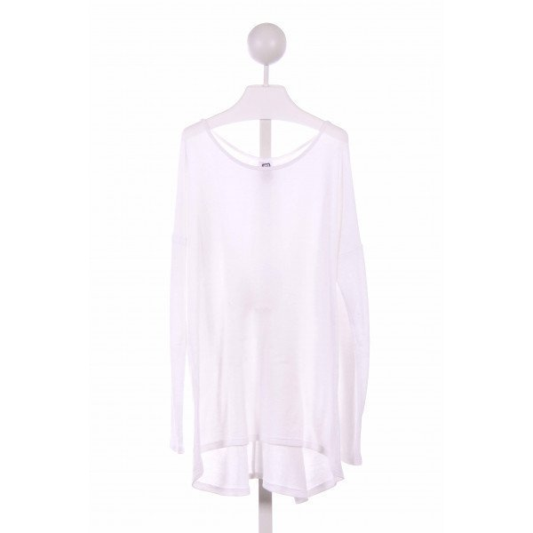 ERGE  WHITE    KNIT LS SHIRT