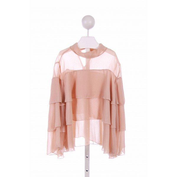 ZARA  PINK    CLOTH LS SHIRT