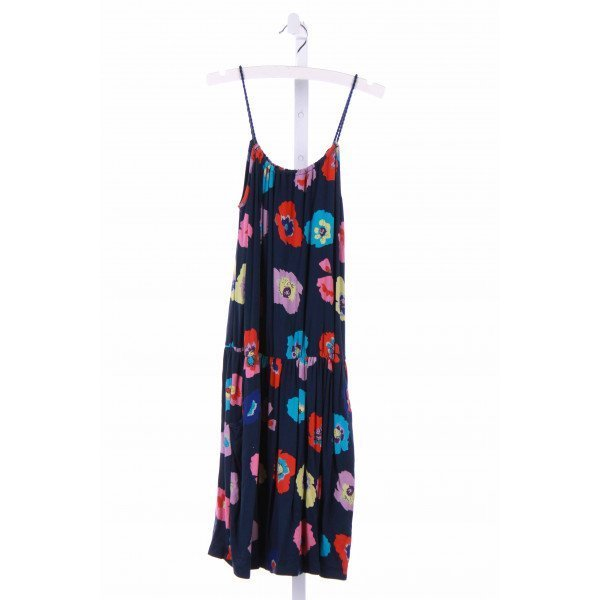 IMOGA  NAVY KNIT FLORAL  CASUAL DRESS