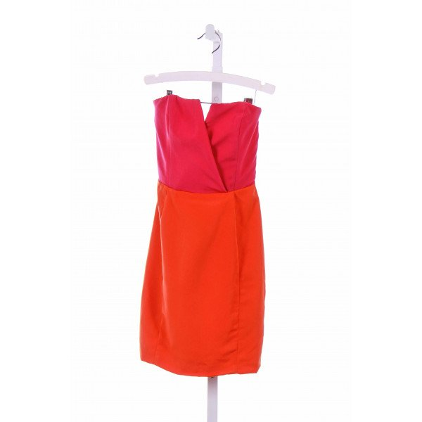 NAVEN  ORANGE    PARTY DRESS