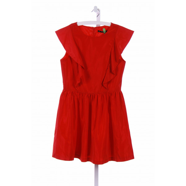 ZARA  RED    CASUAL DRESS
