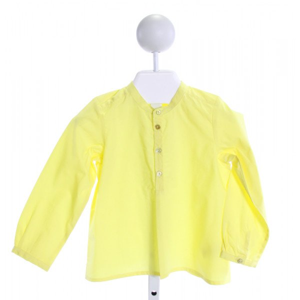 BONPOINT  YELLOW    CLOTH LS SHIRT