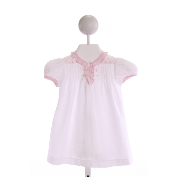 LITTLE ENGLISH  MULTI-COLOR   EMBROIDERED LAYETTE WITH RUFFLE