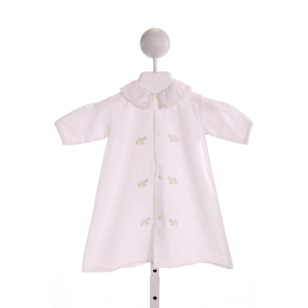 AURALUZ  OFF-WHITE   EMBROIDERED LAYETTE