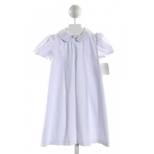 STITCHY FISH  WHITE    DRESS