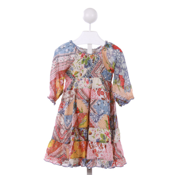 MIMI AND MAGGIE  MULTI-COLOR  PRINT  CASUAL DRESS