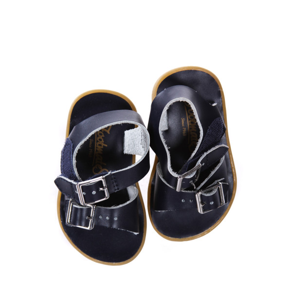 NAVY BLUE FOOTMATE SANDALS *SIZE INFANT 3, EUC