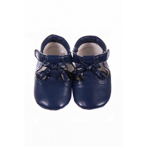 BLUE MAYORAL SOFT SOLE SHOE WITH VELCRO STRAPS SIZE 2.5 *NWOT