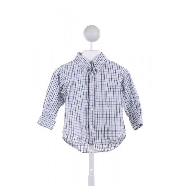 KITESTRINGS  MULTI-COLOR  PLAID  CLOTH LS SHIRT